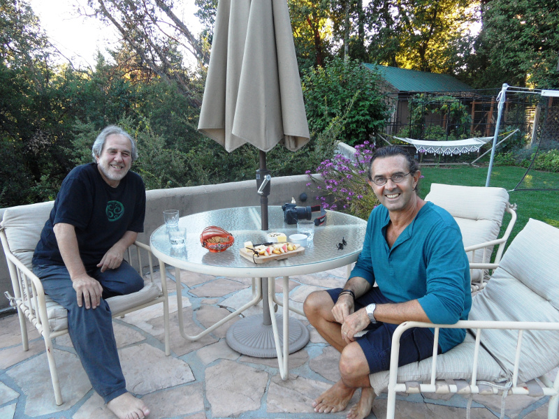 Dr. Bruce Lipton and Jorge Patrono