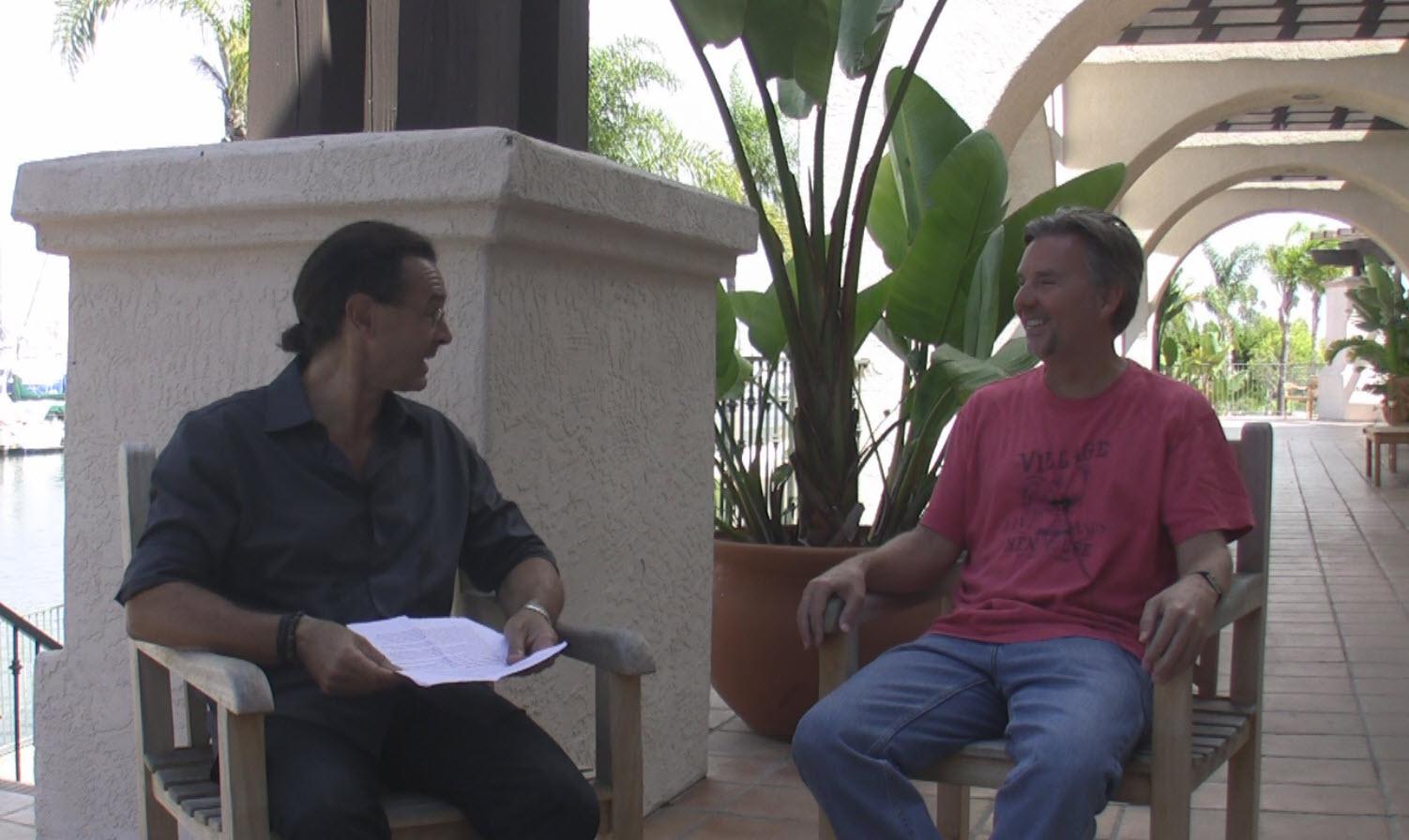Dr. Alex Loyd and Jorge Patrono