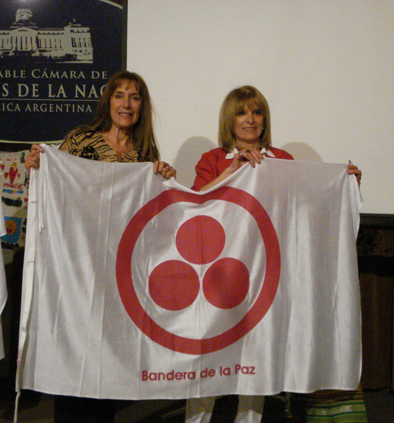 Inés Palomeque and Silvia Patrono